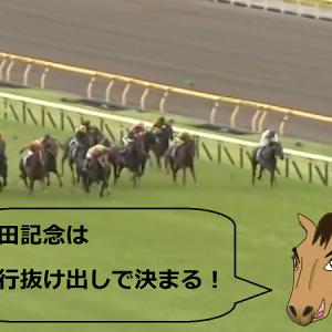 安田記念はこの勝利へのパターンで