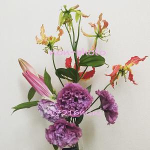 思わぬお花のプレゼント