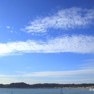 材木座海岸でひと休み・・・鎌倉市♪