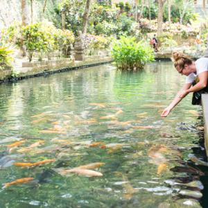 Tegallalang, Indonesia 〜グヌンカウィ・スバトゥ寺院の水に惚れる!ガルーダを彫る人~