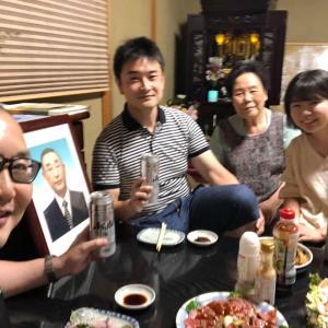 第2,790回(2020.9.19)相棒どの4回目の命日、親族で楽しい食事会を催す!