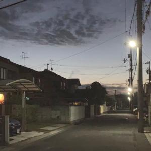 第2,827回(2020.10.26)秋の早朝散歩を楽しむ♪