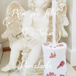 薔薇と天使のサニタリーブラシで素敵なトイレ空間に♡リッジウエイを淹れて英国フェアを楽しむ