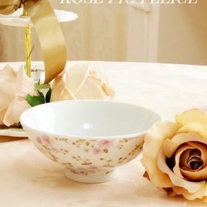 可愛い小花柄のお茶碗で幸せな食卓 ♡ デンメアティーハウスのティーでティータイム