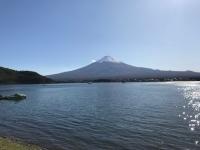 河口湖へGO。