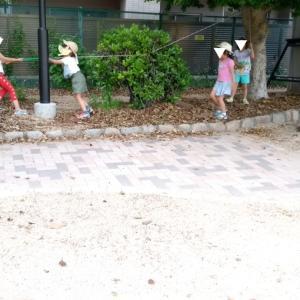 小1女子の公園遊び