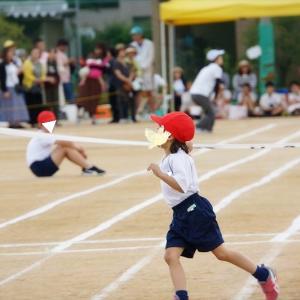 初めて小学校の運動会へ*
