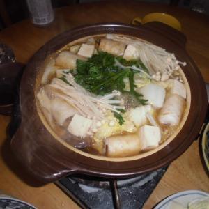 きりたんぽ鍋からのチヂミ~
