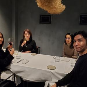 忘年会で 集まった仲間と、大好きなレストラン★