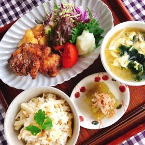 【4月前半メニュ】唐揚げを美味しく作る2ポイントはたった2つ❣️お料理教室デビューしてください✨