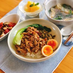 お料理でちょっと旅行気分✨意外と簡単❣️台湾名物ルーロー飯はいかが?