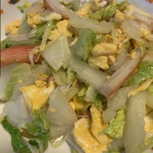 簡単で美味しい白菜の炒め物
