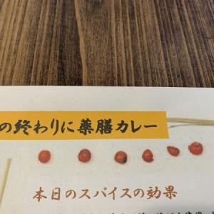 のうカフェイベント「薬膳カレー」