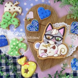 *あつ森*ジュンとジャックの仲良しアイシングクッキー♡