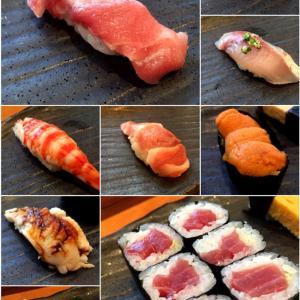 東京タワーのおひざ元、満足寿司ランチ