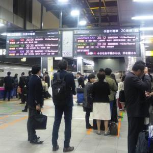 金曜午後の東京駅