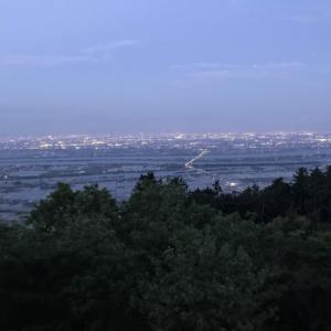 濃尾平野の西端を駆け抜ける 養老山地縦走(3/3) 庭田山頂公園~多度駅