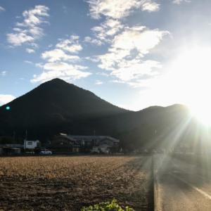 三上山 近江富士から初日の出を仰ぐ