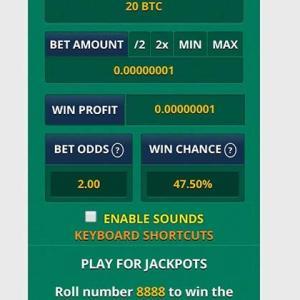 《フリービットコイン/MULTIPLY BTC検証 11日目》複利全開で毎日賭け金アップ。マーチンMAX8回。