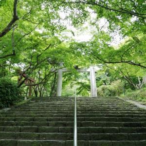 竈門神社から宝満山