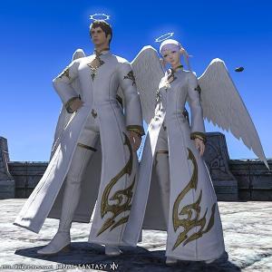 【FF14】エンジェル/デモンアタイアのような羽が生えた装備をもっと実装してほしい!
