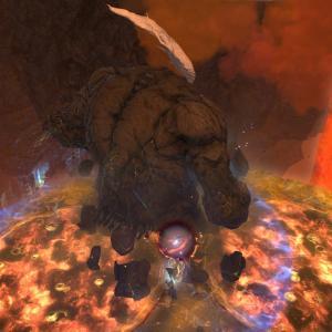 【FF14】幻タイタンの子タコフェーズで範囲スキルを使わず1体を集中して殴ってる奴ちょっと来い