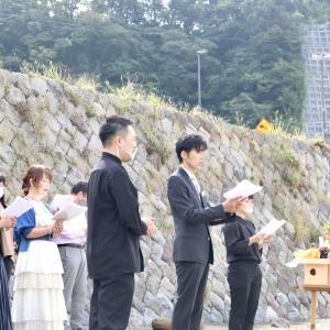 本日「地震鎮めの祈り」無事に開催することができました!