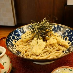 【蝦夷前そばと豚丼北堂】舞茸天蕎麦