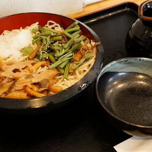 【そば処あかし家】山菜なめこおろし