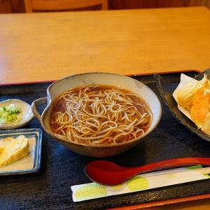 【そば処季風】ごぼう天そば【六花亭】土鍋ぜんざい/ショートケーキ