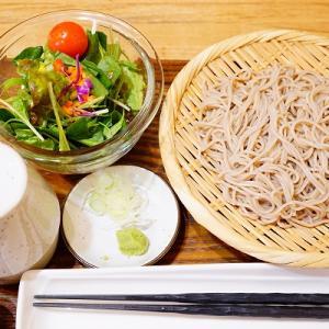 【自然食&ローフードLOHAS】もり蕎麦+生野菜サラダ【町村農場】北海道ミルクの白いプリンパフェ
