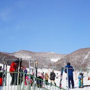 【藻岩山スキー場】初めてのスキー【せんがく】