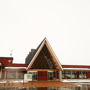 【道の駅とうべつ】雪景色【月形町】