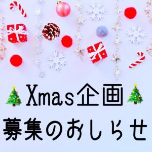 【クリスマス特別企画】:過去生、見えないガイドさん、二次元の世界、復刻募集のお知らせ!