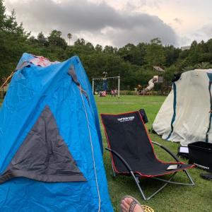 夜はキャンプでまったりと