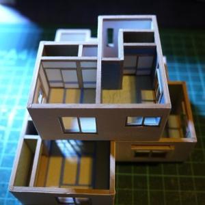 クレヨンしんちゃんの家模型:2階やり直し