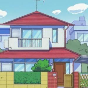 クレヨンしんちゃんの家模型:屋根完成!