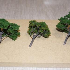 おそ松さんの家模型:19(樹木と池)