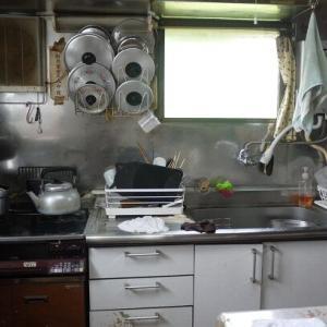 実家の台所の断捨離&掃除
