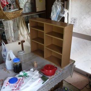 実家の汚台所の断捨離と掃除:両面ハッチ食器棚を綺麗に
