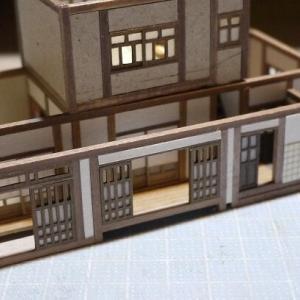 廃屋を蘇らせる模型:縁側・玄関