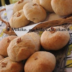 クリチ餡パン&ふわふわパンペルデュ(今月のパン教室)