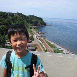 続 青海川駅に折尾から列車で行って来た。その18。8月19日。青海川→直江津