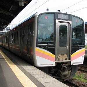 続 青海川駅に折尾から列車で行って来た。その19。8月19日。直江津→上越妙高