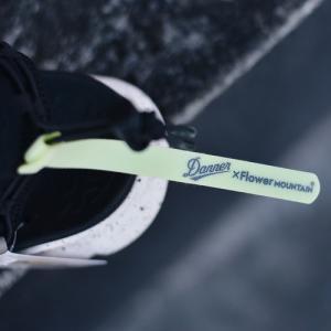 3月27日水曜日一斉発売決定Danner×Flower Mountainダナーコラボフラワーマウンティン