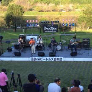 温泉beビートルズ音楽祭2014 開催中です!
