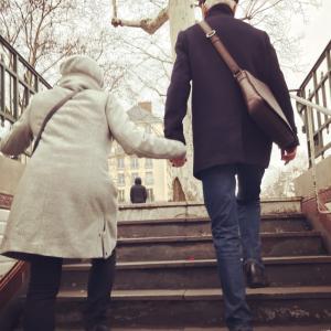 パリの大晦日~ゲイとレズビアンの老人と私達