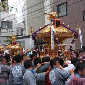 荏原神社、品川神社のお祭り&イタリアンでディナー