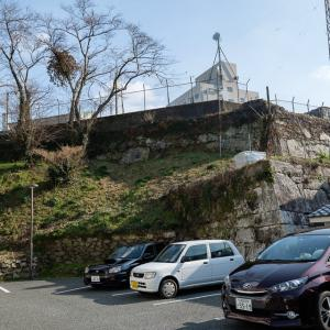 対馬 桟原城 : 江戸時代に新造された対馬藩政庁跡、今は自衛隊駐屯地。