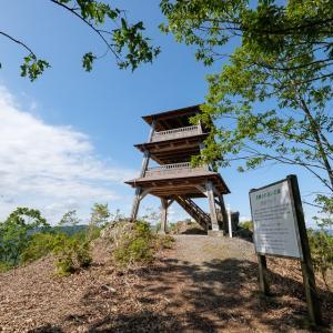 鴾ヶ堂城 : 盆地を見下ろす地に築かれた地元国衆の拠点